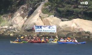 DKK hilser på sommrebåten