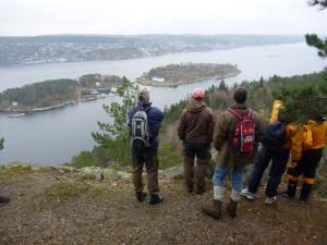 Utsikt fra Håøya